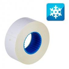 Этикет-лента 21х12 прямоугольная, морозостойкая, белая