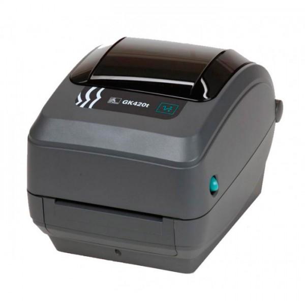 Принтер печати этикеток ZEBRA GK-420T, 203 dpi, TT, 104 мм