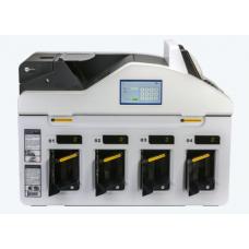 Четырехкарманный мультивалютный сортировщик банкнот GRG CM400