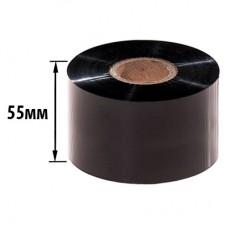 Риббон WAX 55х300х25 (ширина х длина х втулка) OUT/IN
